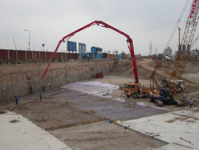 Tiến độ xây dựng dự án Mỹ Đình Pearl